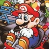 Super Mario Kart (SNES) game cover art