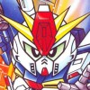 SD Gundam Generation: Axis Senki (SNES) game cover art