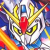 SD Gundam Generation: Gryps Senki (SNES) game cover art
