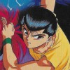 Yuu Yuu Hakusho (SNES) game cover art