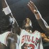 Bulls versus Blazers and The NBA Playoffs (GEN) game cover art