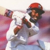 Brian Lara Cricket '96 artwork