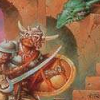 Dungeons & Dragons: Warriors of the Eternal Sun (Genesis) artwork
