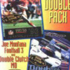 Double Pack: Joe Montana Football 3 / Double Clutch MD (GEN) game cover art