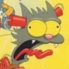 The Itchy & Scratchy Game artwork