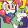Mega Bomberman artwork