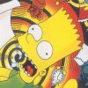 The Simpsons: Bart's Nightmare (GEN) game cover art