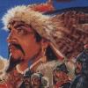 Aoki Ookami to Shiroki Meshika: Genchou Hishi (NES) game cover art