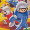 Bomberman II (NES) artwork