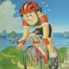 Cycle Race: Road Man (NES) game cover art