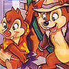 Chip 'N Dale: Rescue Rangers 2 (NES) game cover art
