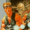 Contra (NES) artwork