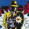 Dick Tracy (NES) game cover art