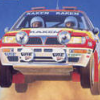 Exciting Rally: World Rally Championship (NES) game cover art
