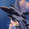 F-15 City Wars (NES) artwork