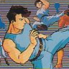 Fighting Road (NES) game cover art