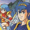 Fire Emblem: Ankoku Ryu to Hikari no Tsurugi (NES) game cover art
