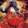 Flying Dragon: The Secret Scroll (NES) artwork