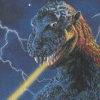 Godzilla: Monster of Monsters (NES) game cover art