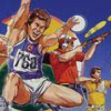 Hyper Sports (NES) game cover art