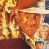 Indiana Jones and the Temple of Doom (NES) game cover art