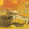 Iron Tank: The Invasion of Normandy (NES) artwork