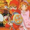 Jajamaru Gekimaden: Maboroshi no Kinmajou (NES) game cover art
