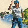 Jumbo Ozaki no Hole In One Professional (NES) game cover art