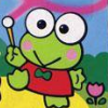 Kero Kero Keroppi no Daibouken (NES) game cover art