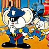 Mappy Land (NES) game cover art