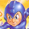 Mega Man 4 (NES) game cover art
