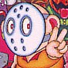 Splatterhouse: Wanpaku Graffiti (NES) artwork