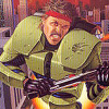 S.C.A.T.: Special Cybernetic Attack Team (NES) artwork