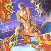Tag Team Wrestling (NES) game cover art