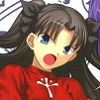 Fate/stay night (PC) game cover art