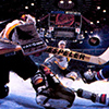 NHL Hockey '95 artwork