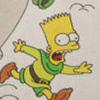 The Simpsons: Bart and the Beanstalk artwork