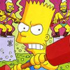 The Simpsons: Bart vs. the Juggernauts (GB) game cover art