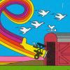 Barnstorming (Atari 2600) artwork