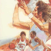 Basketball (A2600) game cover art