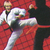 Chuck Norris Superkicks (A2600) game cover art