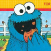 Cookie Monster Munch (A2600) game cover art