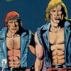 Double Dragon (A2600) game cover art