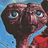 E.T. The Extra-Terrestrial (A2600) game cover art
