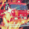 Fire Fighter (A2600) game cover art