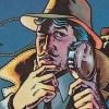 Private Eye (A2600) game cover art