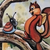 Snail Against Squirrel (A2600) game cover art