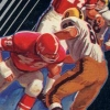 Super Challenge Football (A2600) game cover art