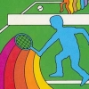 Tennis artwork