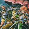 Dragon Saber (TG16) game cover art